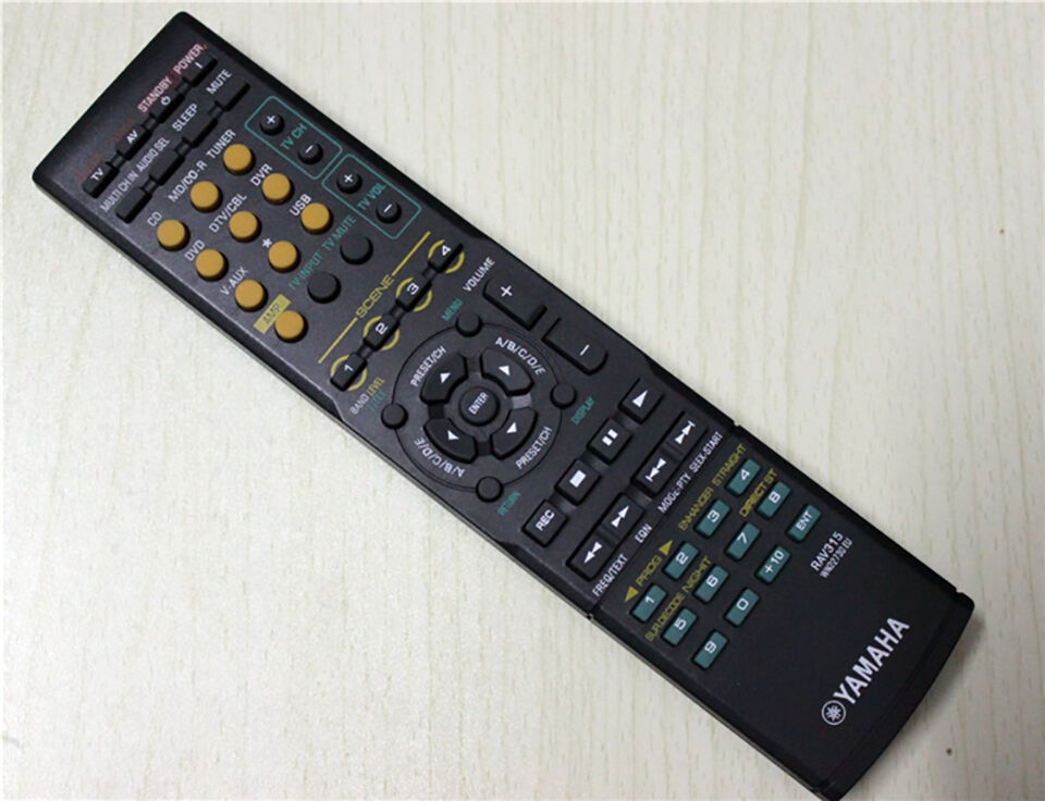 Yamaha Receiver Remote Control Replacement