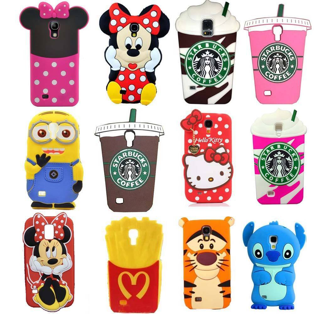 3D Cute Cartoon Soft Silicone Back Cover Case For Samsung ...