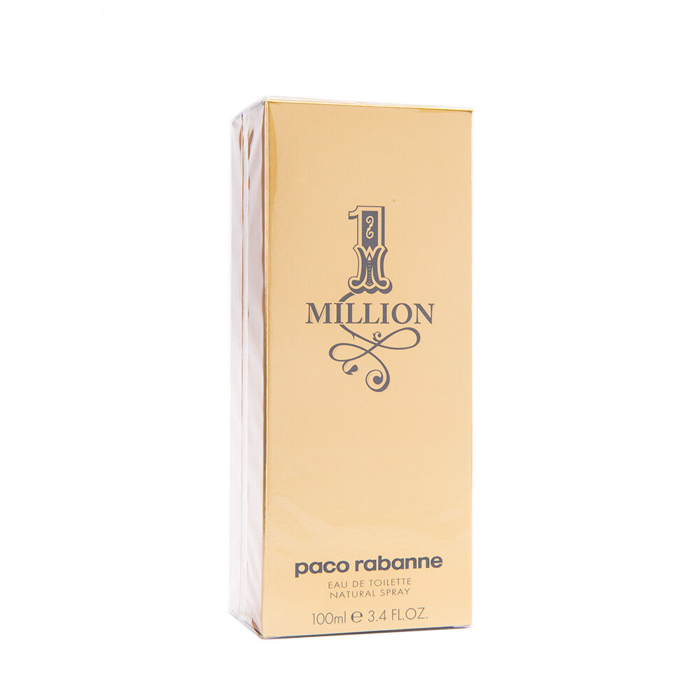 paco rabanne 1 million 100ml eau de toilette 3 3. Black Bedroom Furniture Sets. Home Design Ideas