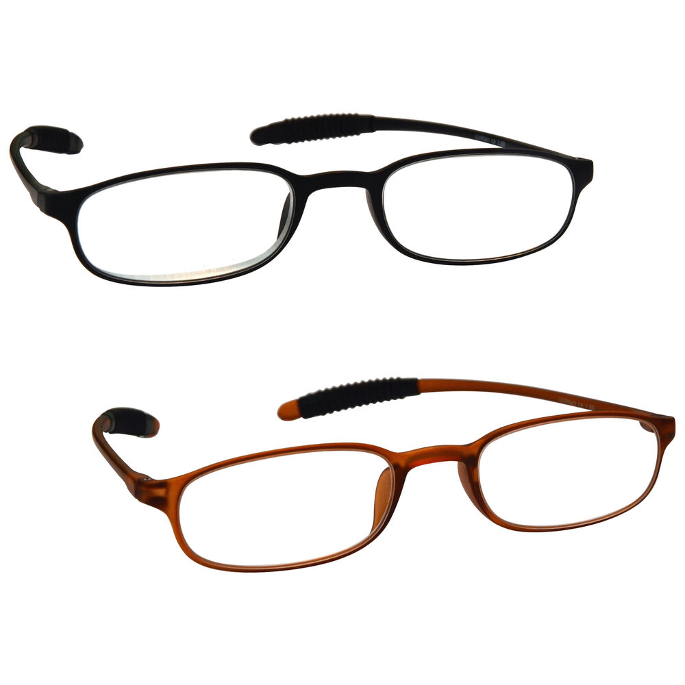 Super Lightweight Eyeglass Frames : UV Reader Super Lightweight TR 90 Reading Glasses Mens ...