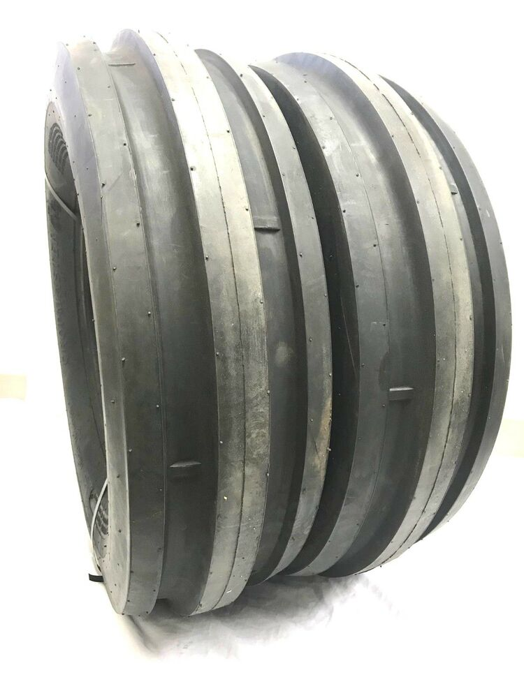 Backhoe Tires 15 : Two new l ply rated rib tractor farm tire