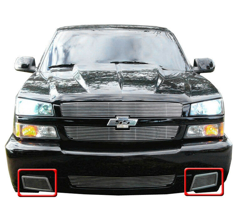 03 Chevy Front Bumpers : Chevy silverado ss front side bumper billet
