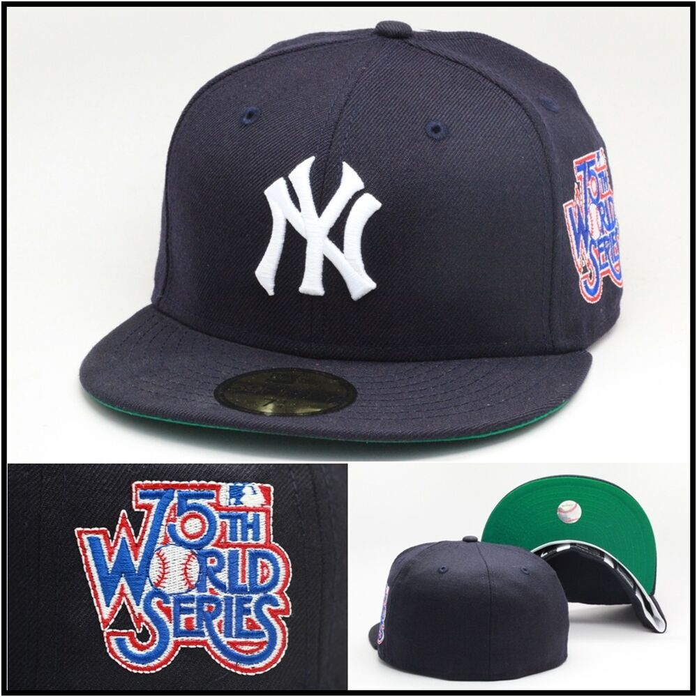 New Era New York New York Yankees Fitted Hat Cap 1978