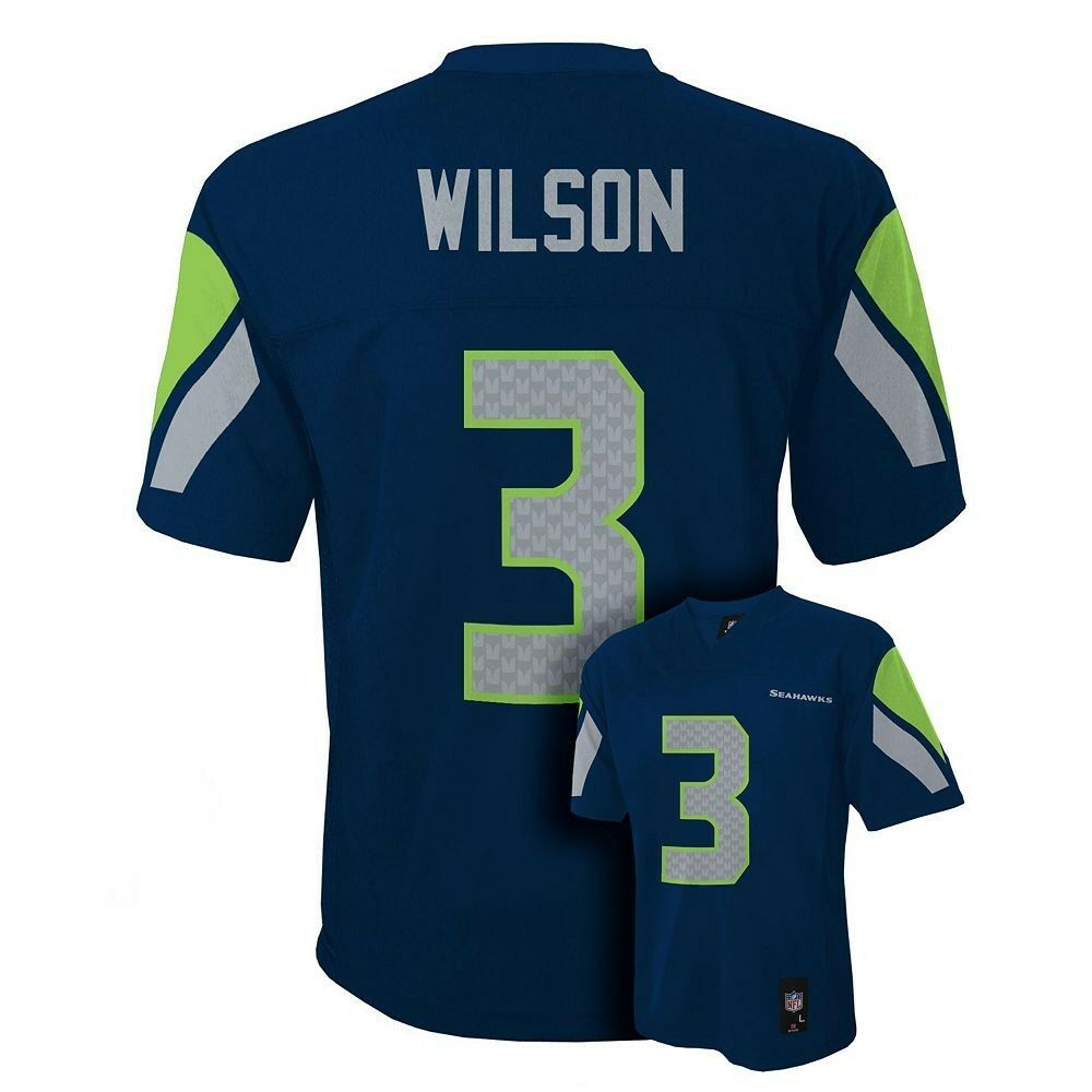 7edd060a8 Details about (2018-2019) Seahawks RUSSELL WILSON nfl INFANT BABY NEWBORN  Jersey 24M 24 Months