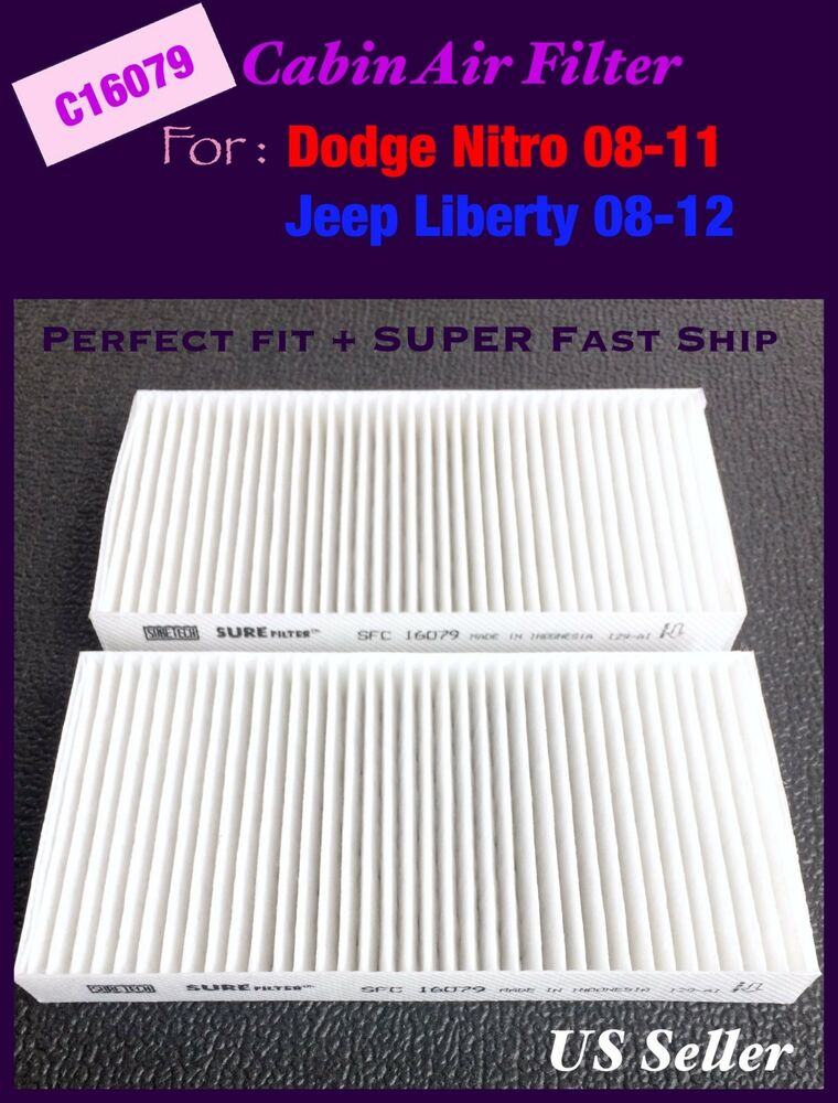 Cabin Air Filter For Jeep Liberty 08 12 Dodge Nitro 08 11