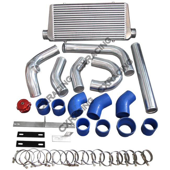 Vortech V1 Supercharger Foxbody: CXRacing Intercooler Piping BOV Kit For 79-93 Ford Mustang