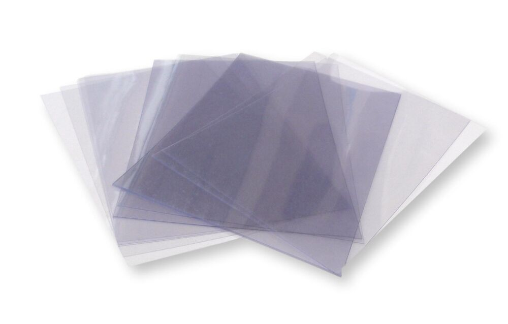 20 A5 Clear Acetate Plastic Sheets 180 Micron Ebay