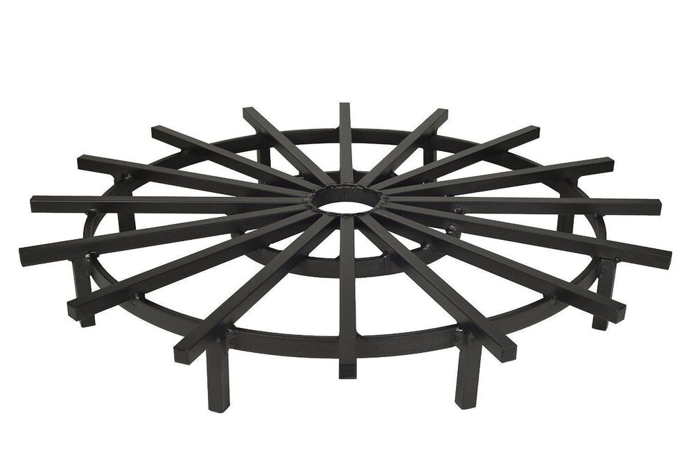 fire pit grate heavy duty ship s wheel firewood grate for pit 29233