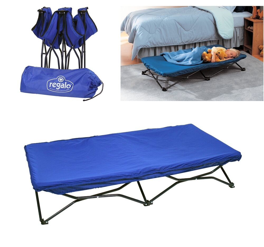 Portable Toddler Bed Cot Folding Travel Camping Beach