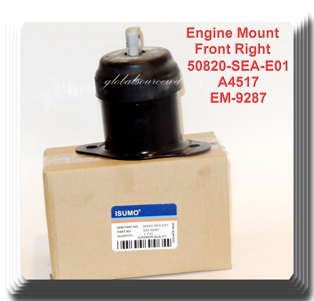 Acura Tsx 2004 2005 Engine Mount: Engine Mount Front Right Fits Acura TL TSX 2004-2008 Honda