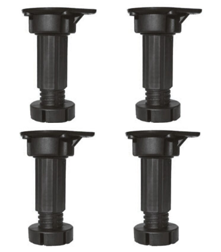 Adjustable Kitchen Cabinet Legs: CABINET PLINTH FEET LEGS KITCHEN CARCASE BASE UNIT PLASTIC