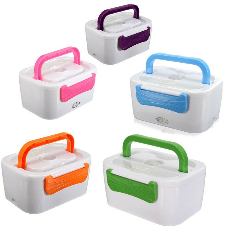 Portable Food Warmer Box ~ Hot electric heated portable compact food warmer car truck