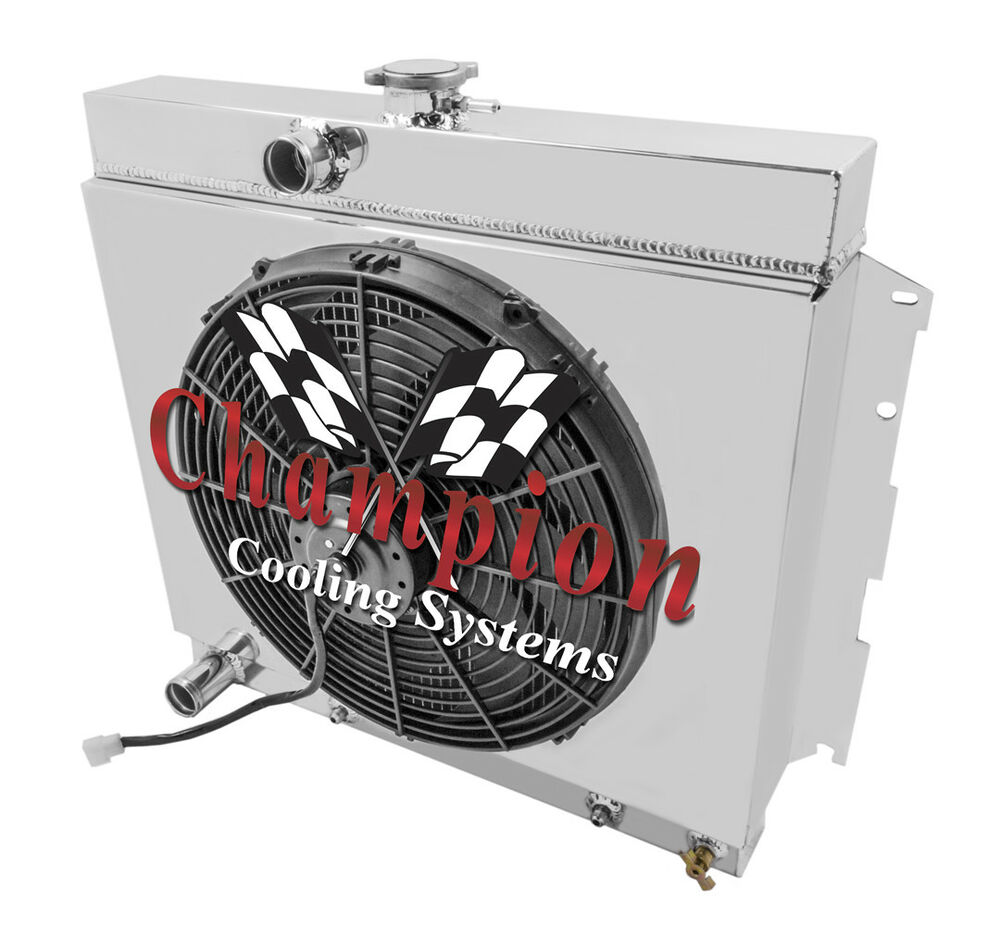 Radiator With Fan S  And Shroud Combo For 67