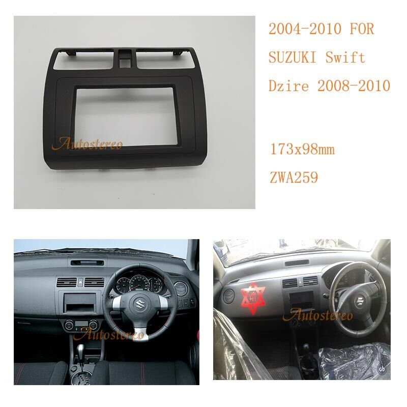install trim kit fascia facia car radio fascia for suzuki. Black Bedroom Furniture Sets. Home Design Ideas