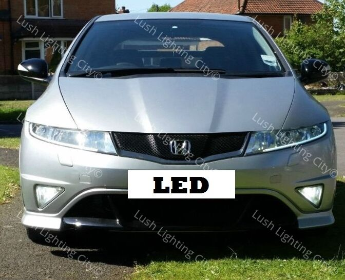 honda civic fn2 h11 led fog light 19 led canbus error free. Black Bedroom Furniture Sets. Home Design Ideas