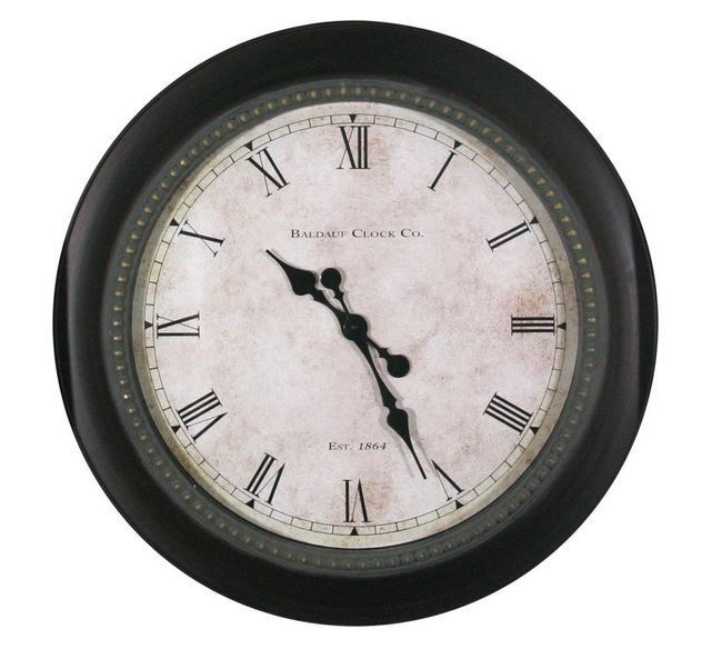 oversized wall clocks baldauf clock company black rub 30 quot large oversized 29738