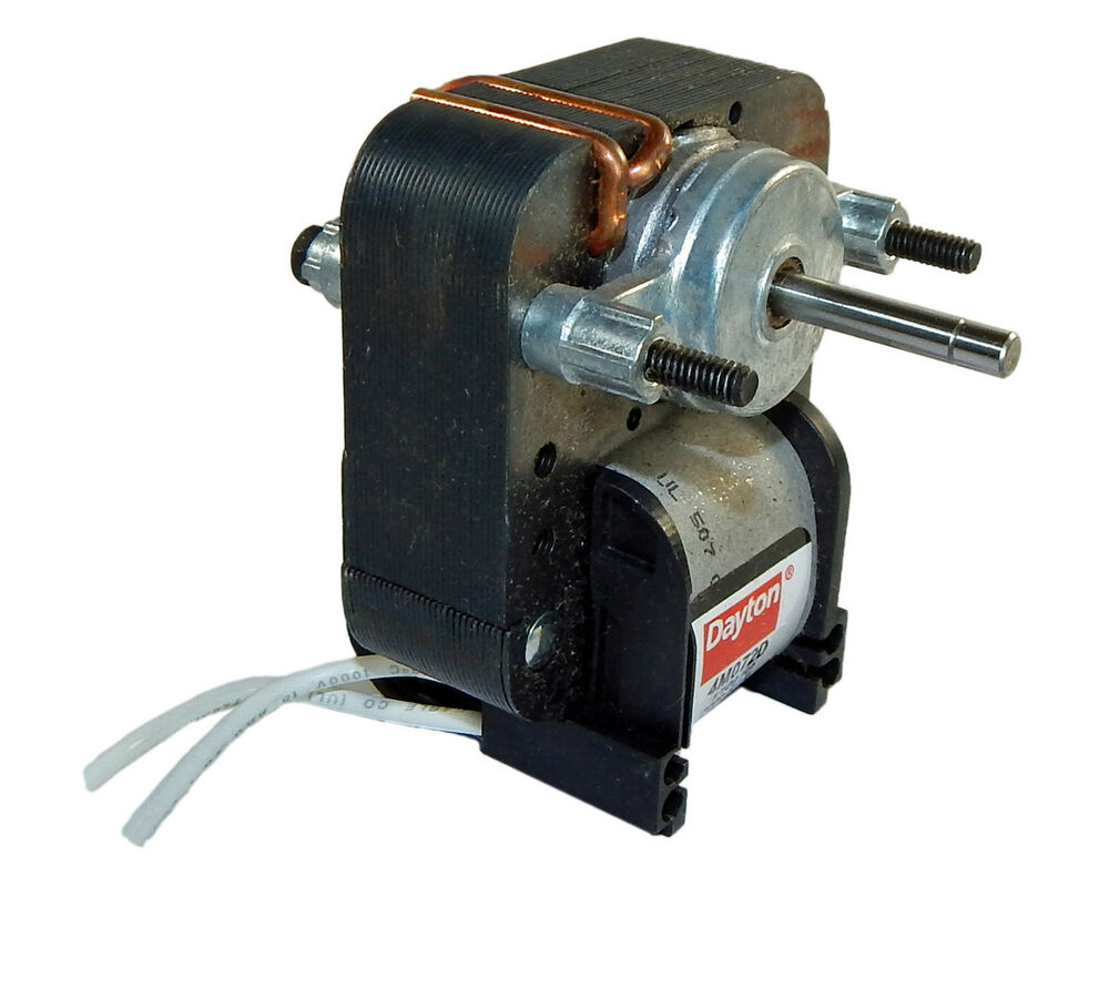 Dayton Electric C Frame Vent Fan Motor 1 100 Hp 3000 Rpm