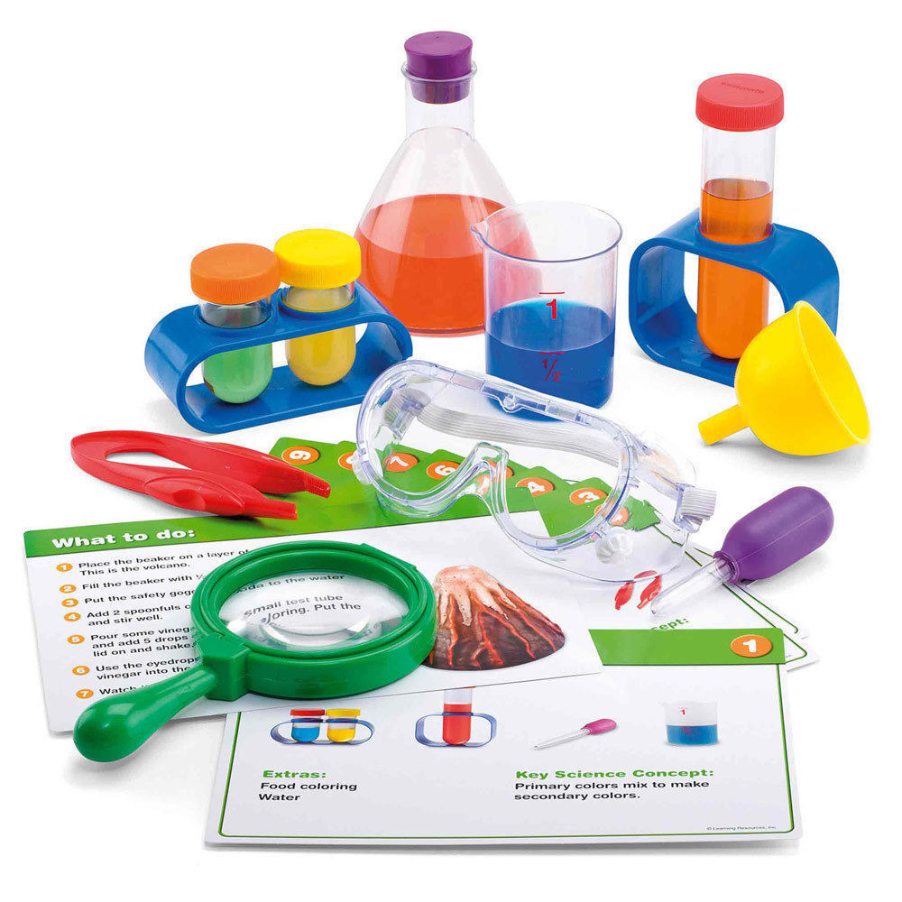 science kit children primary lab experiments toys scientific toy play kits experiment tools nature learning resources educational
