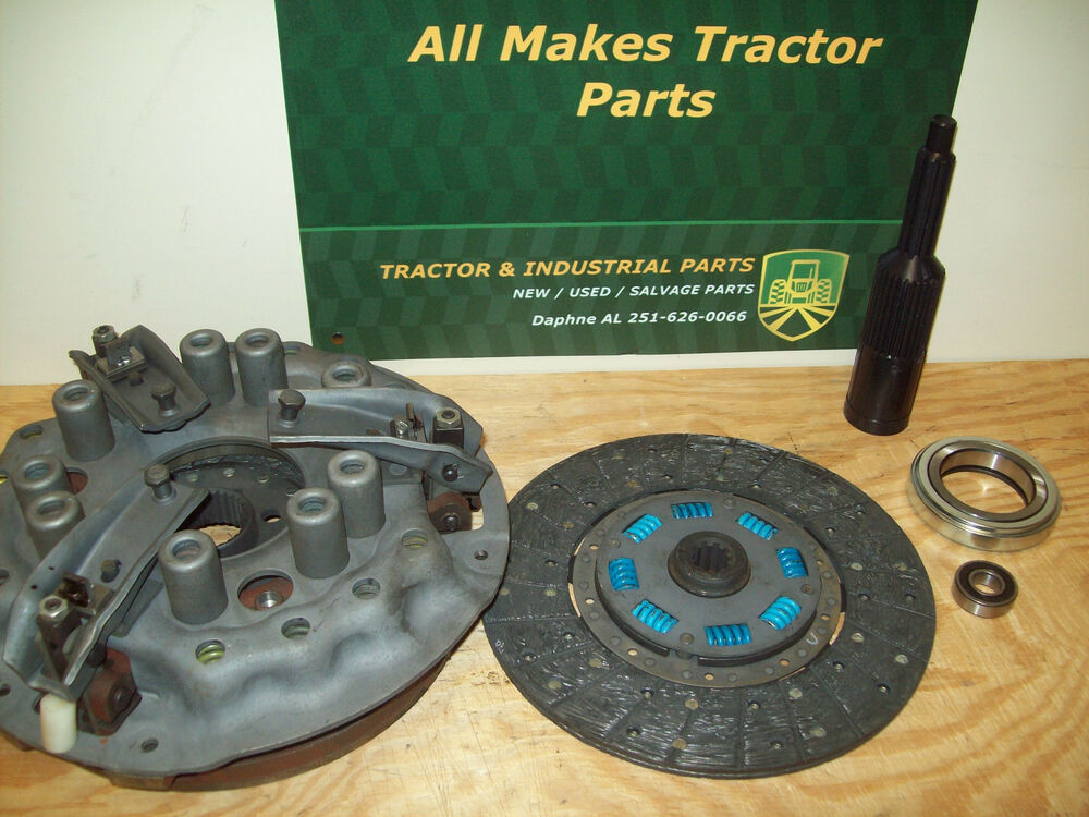 Tractor Clutch Rebuilders : Replace clutch ford tractor