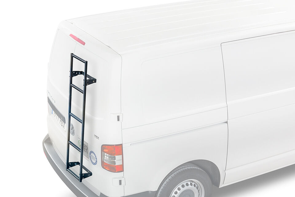 Rear Door Ladder For Ford Transit Custom L2h1 Van Year