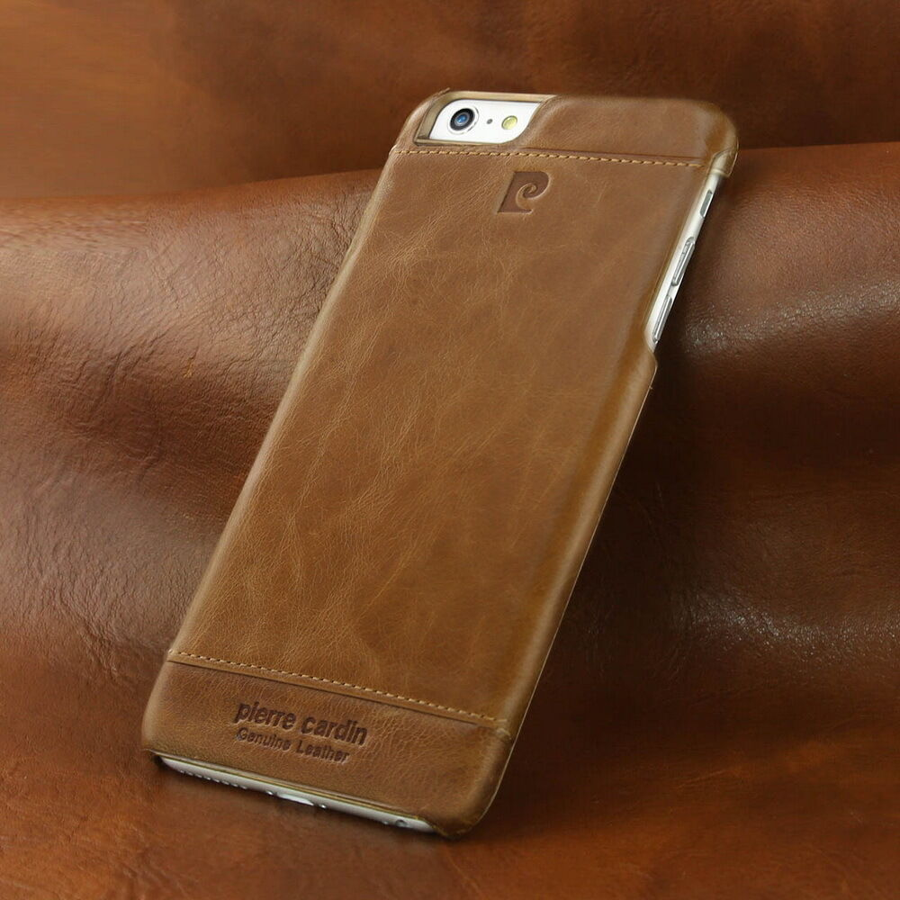 iphone 6 leather cases luxury cardin genuine leather skin for apple 6688