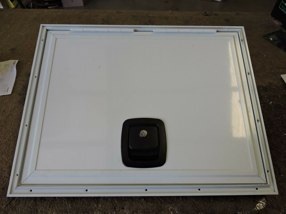 Utility Access Doors : Custom size rv motorhome trailer cart square baggage