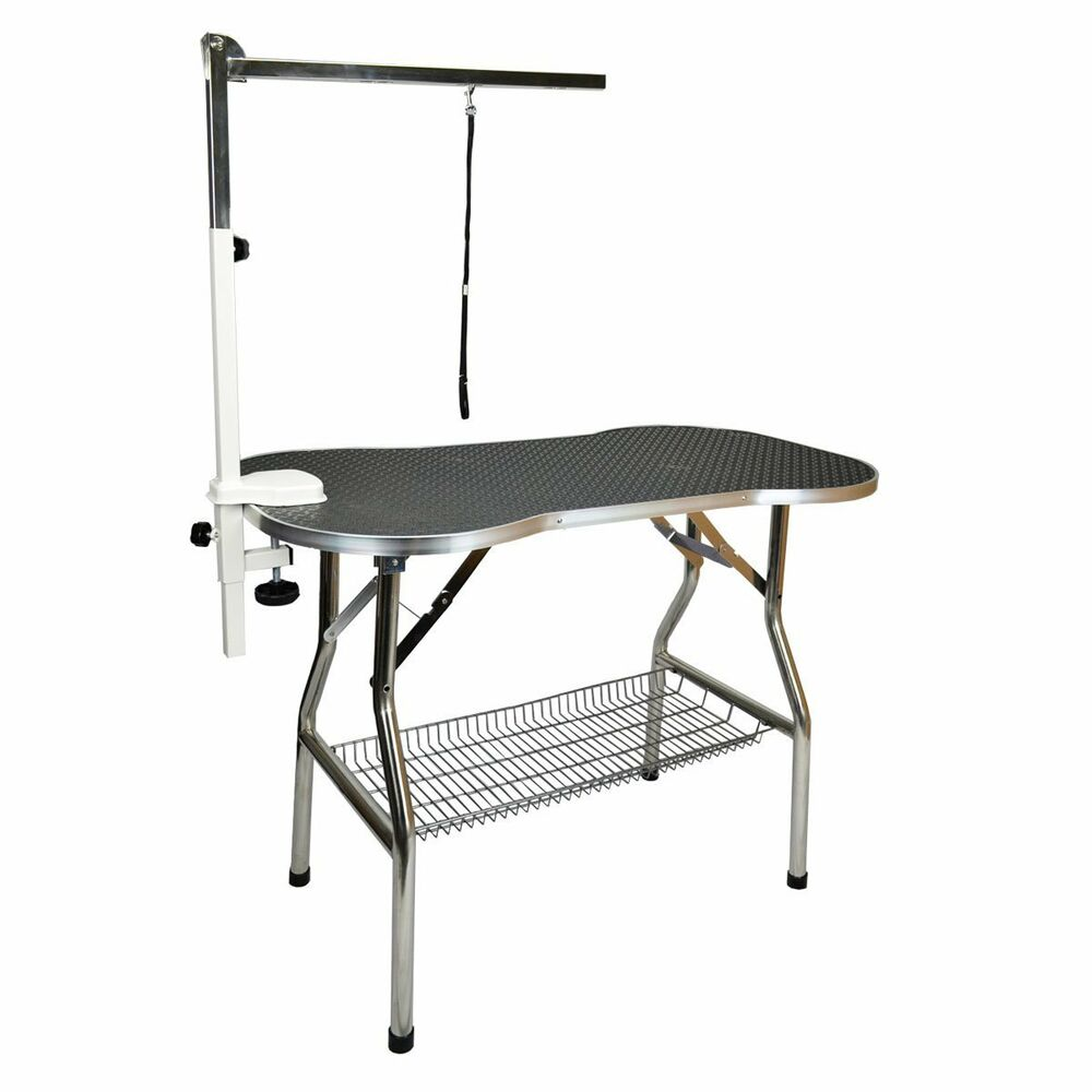 Heavy Duty Stainless Steel Pet Dog Cat Fold Grooming Table