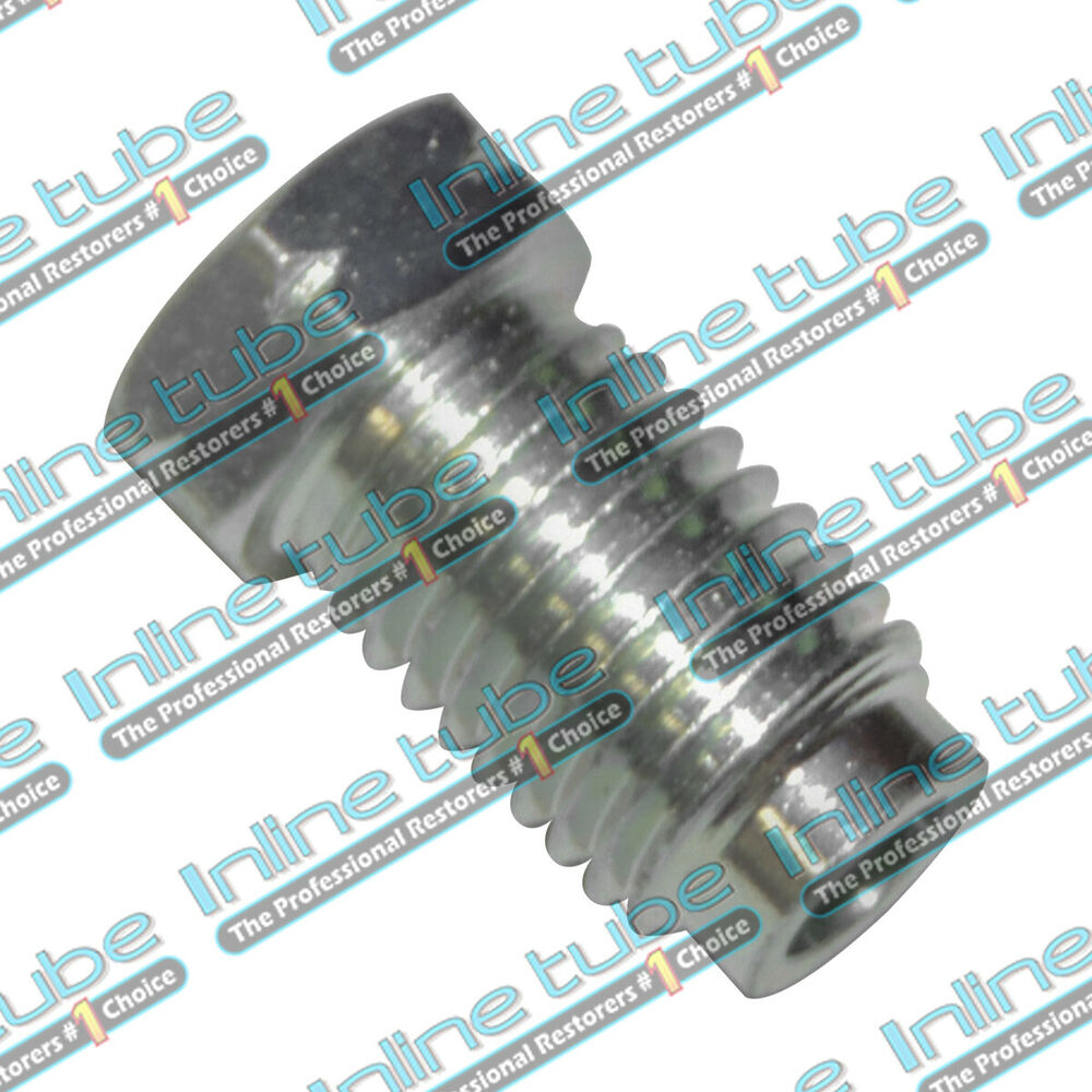 Mm metric inverted flare tube nut fitting