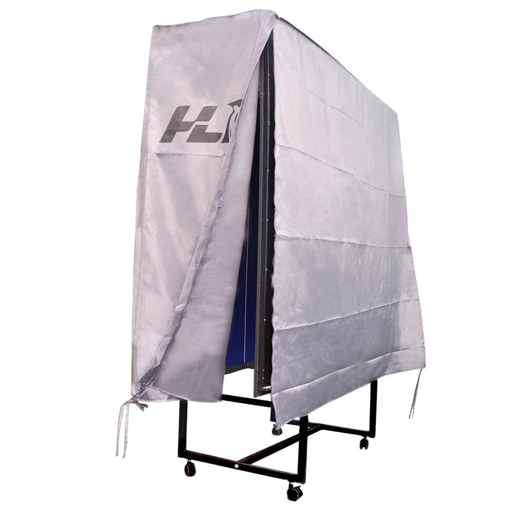 HLC Waterproof Protective Folding Table Tennis Table Cover with Zipper Outdoo