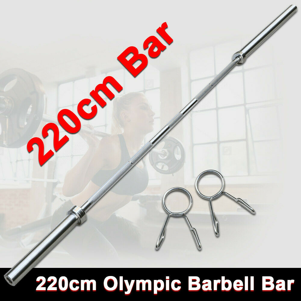 7 Foot 86 Quot Inch Chrome Olympic Barbell Bar Weight Workout