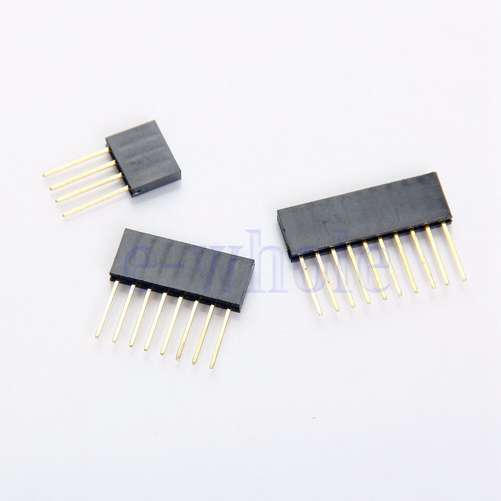4 Pin Cable Arduino : Pcs pin female tall stackable header connector