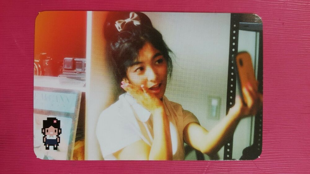 FX f(x) LUNA Official Photocard Pink Tape 2nd Album Rum ... F(x) Amber Pink Tape