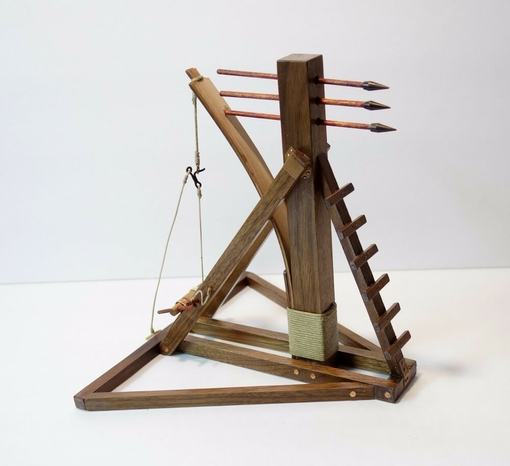 how to build a model catapult