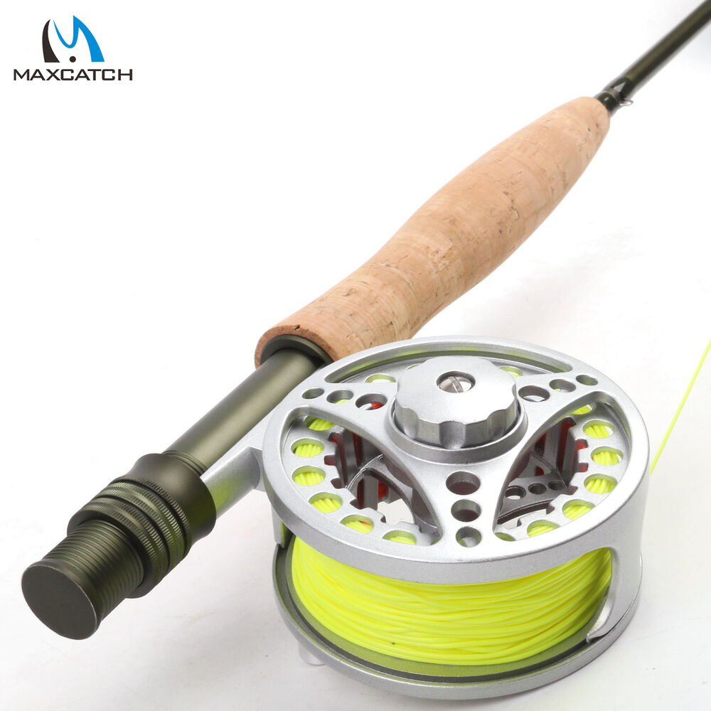 5wt fly rod and reel combo medium fast fly fishing rod 5 for Trout fishing rod and reel