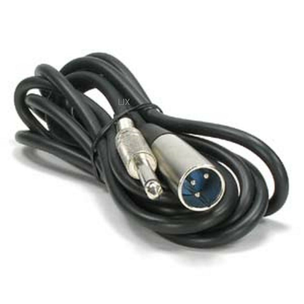 lot 2 50ft 1 4 trs 3pin xlr male mixer to powered monitor speaker cable cord ebay. Black Bedroom Furniture Sets. Home Design Ideas