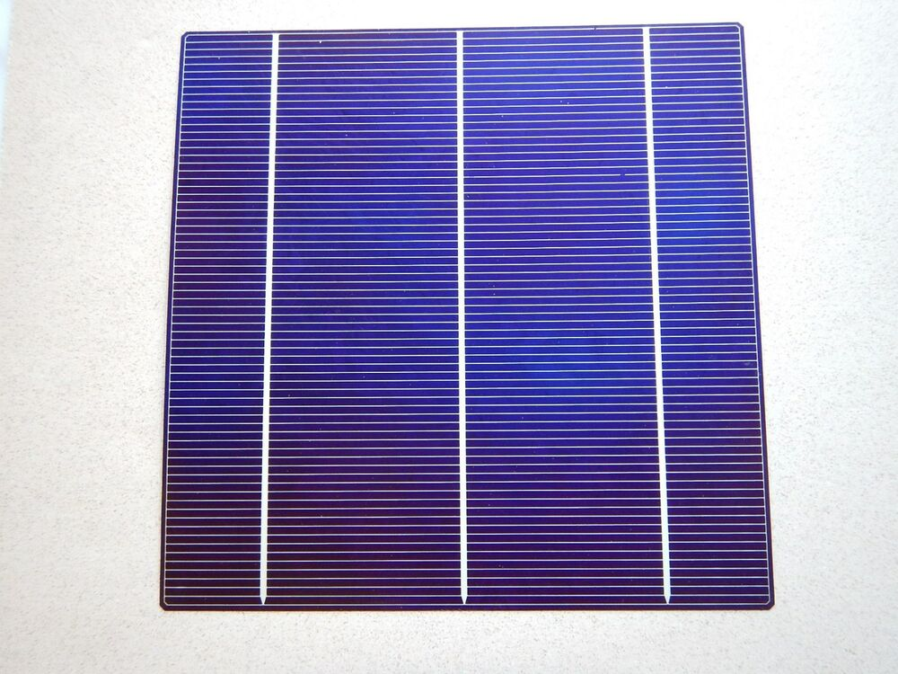 Single 6x6 Solar Cell 5 Volt X 8 Amp 4 Watts Ea Good