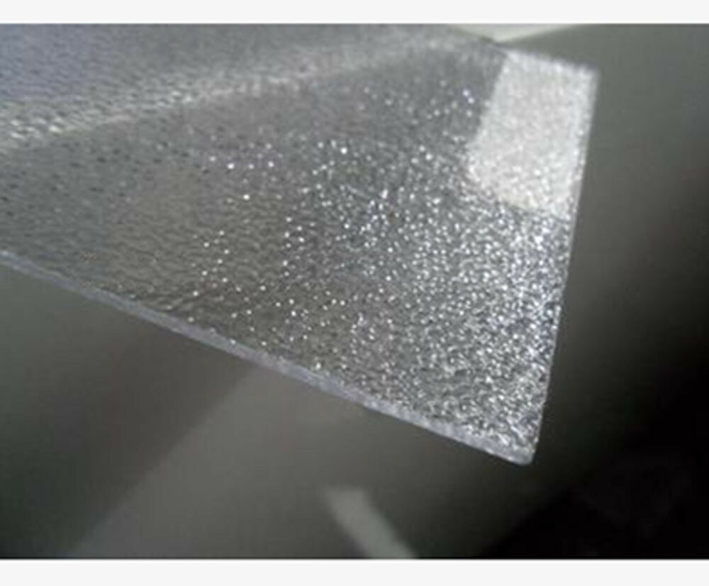 Transparent Acrylic Panel Sheet Diffuser Plexiglass