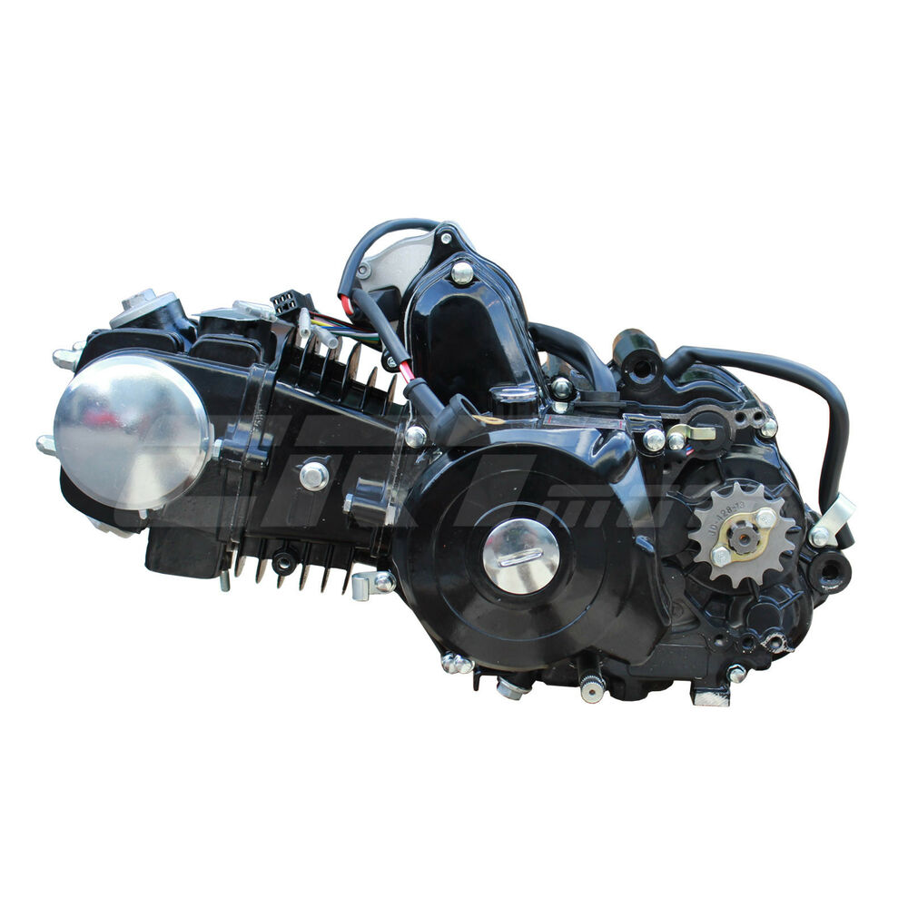 125cc Auto 3 Speed With Reverse Engine Motor For 70cc 90cc