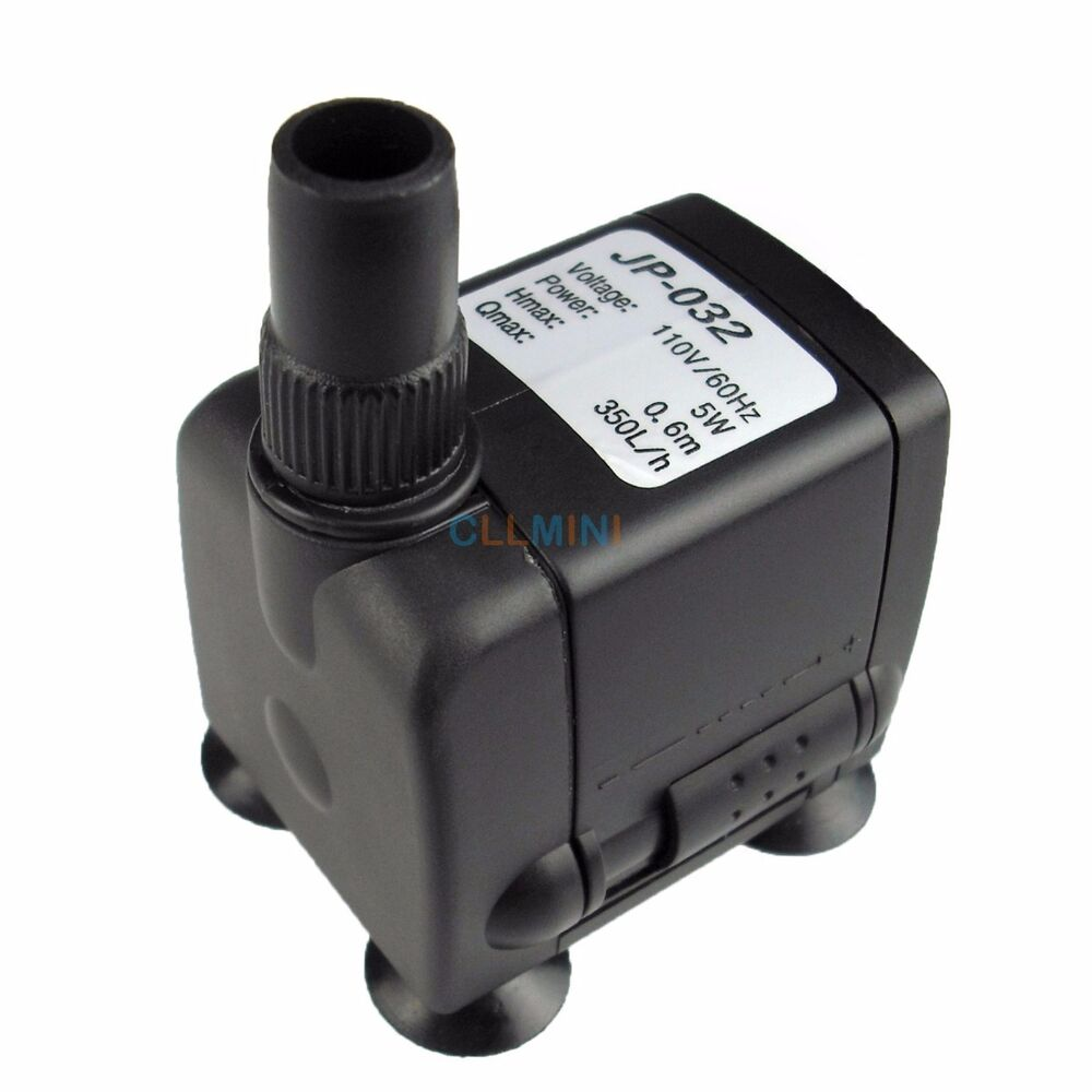 90 gph submersible aquarium pump fish tank powerhead for Fish tank water pump