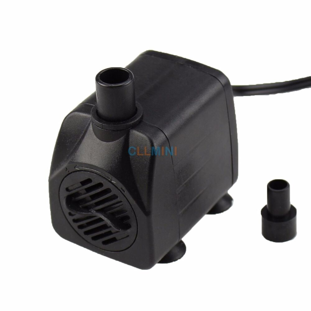 160 gph aquarium submersible water pump fish tank for Fish tank water pump