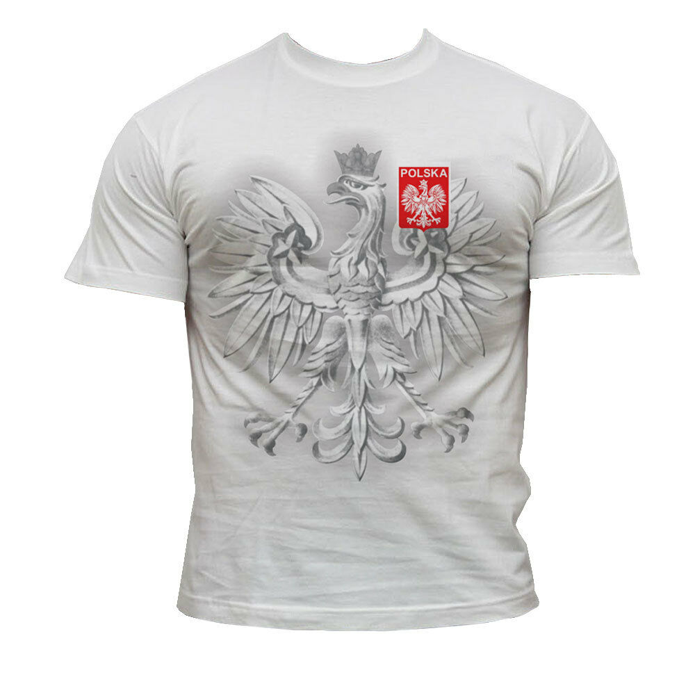 t shirt polska poland world cup russia 2018 football supporters poland fans ebay. Black Bedroom Furniture Sets. Home Design Ideas