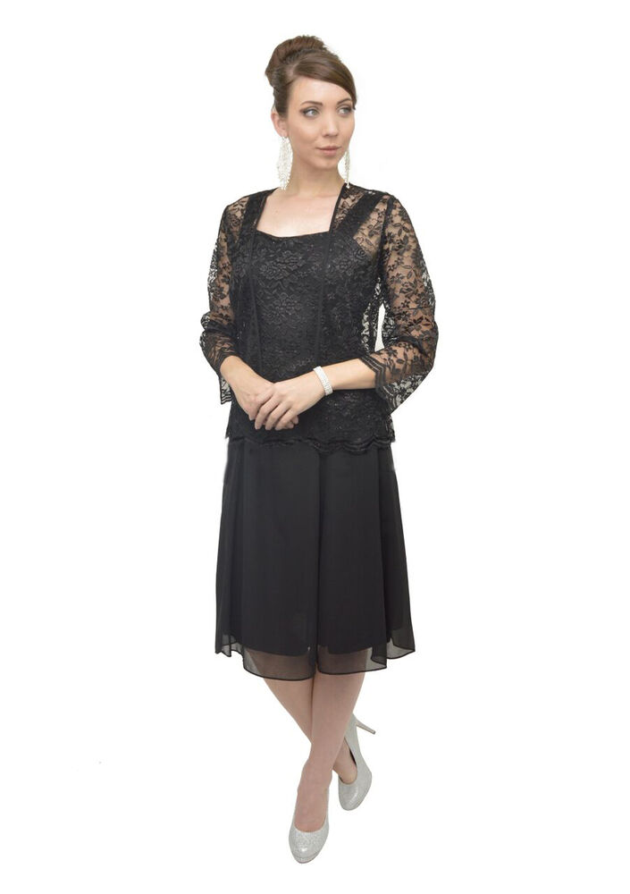 Thedressoutlet mother of the bride dress with jacket plus for Cocktail dress with jacket for wedding