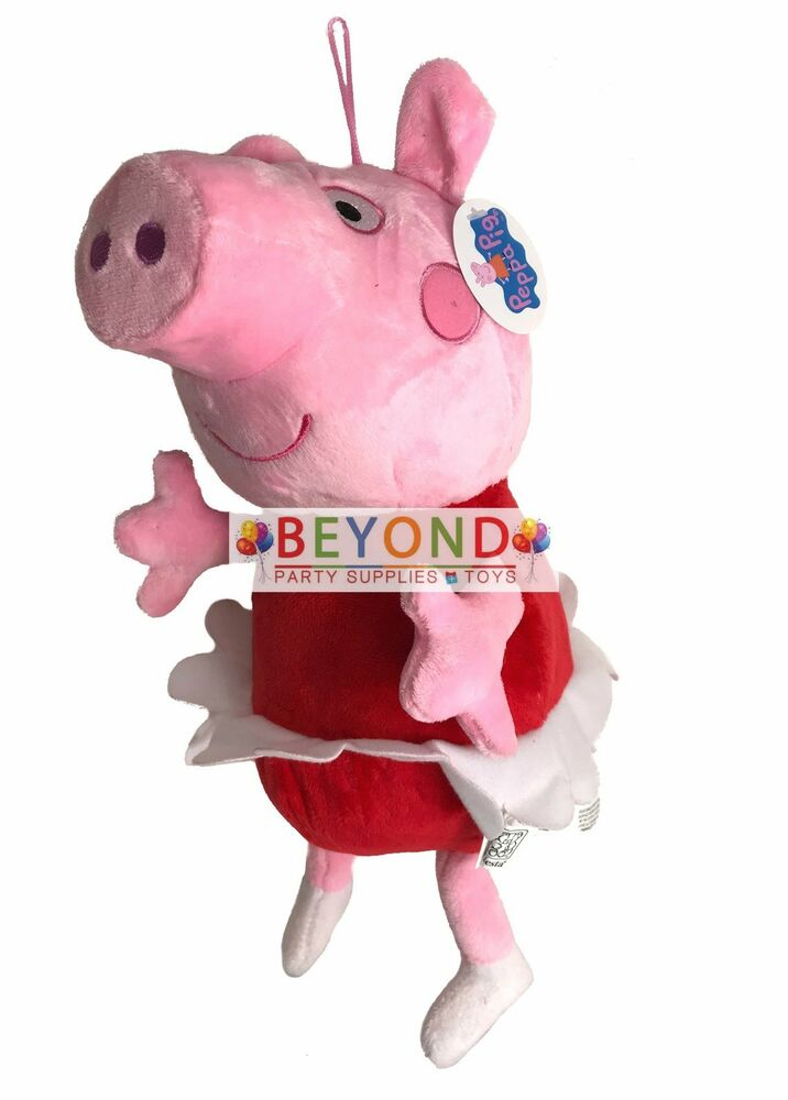 Peppa Pig Toys : New peppa pig plush doll quot inches stuffed animal toy ebay