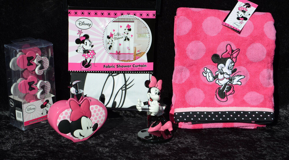 Minnie mouse bathroom sets