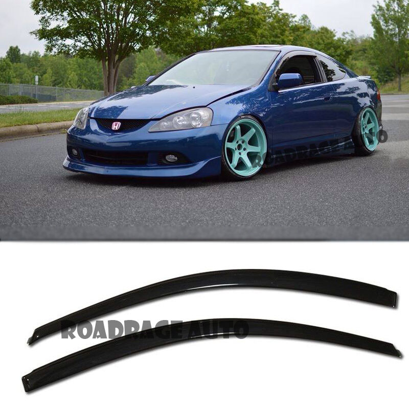 For 02 07 Rsx Dc5 Type S R Si Window Side Visors Rain