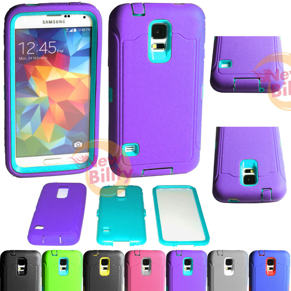 samsung galaxy s5 shock proof rugged rubber impact hard