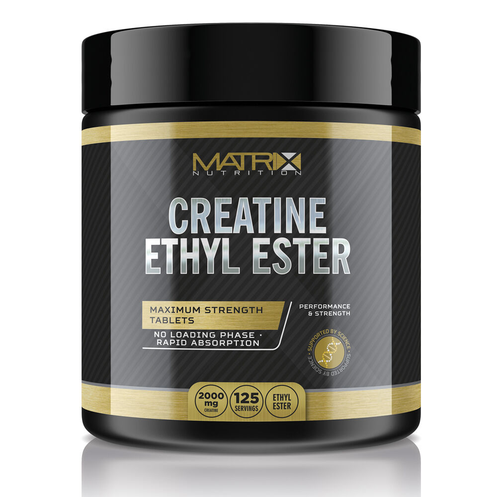 CREATINE ETHYL ESTER - MUSCLE GAIN - INCREASE ATP 500