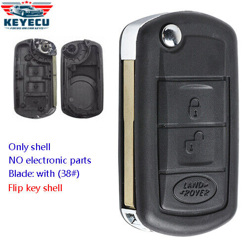 Replacement Remote Key Case Fob For Land Rover Range Rover