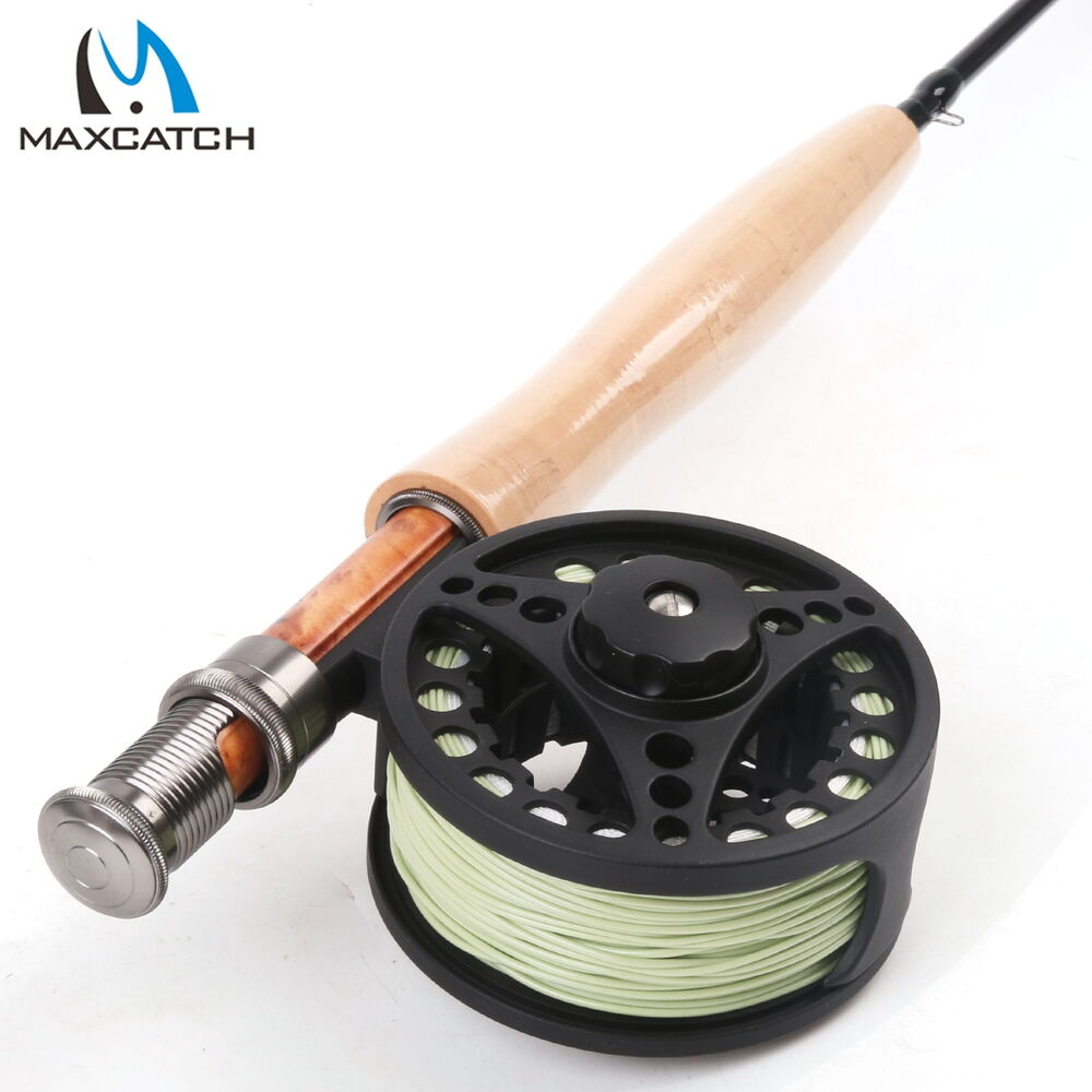 5wt fly rod and reel combo 7pieces traveller fly fishing for Trout fishing rod and reel
