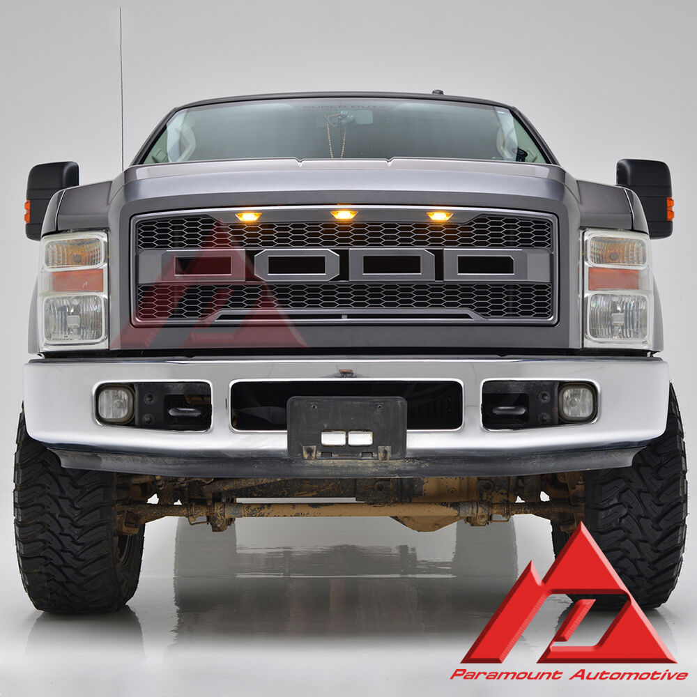 08-10 Ford F250/350 Paramount 41-0161 2017 Raptor Conversion Front ...